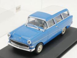 Minichamps 430043211 Opel Rekord P1 Caravan blau 1:43 TOP! OVP