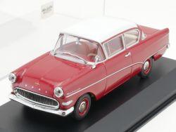 Minichamps 430043204 Opel Rekord P1 Limousine rot 1:43 TOP! OVP