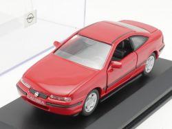 Minichamps Werbemodell Opel Calibra Modellauto rot 1:43 TOP! OVP