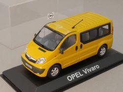 Minichamps Opel Vivaro Kasten gelb Werbemodell 1:43 NEU! tlw OVP