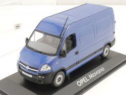 Norev Werbemodell Opel Movano L1H2 Modellauto 1:43 TOP! OVP