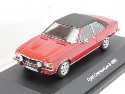 Schuco 02775 Opel Commodore B GS/E rot Modell 1:43 TOP OVP