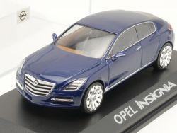 Norev Opel Insignia Werbemodell blau Concept blau 1:43  OVP