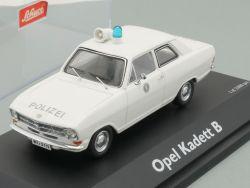 Schuco 02943 Opel Kadett B Modellauto Polizei 1:43 TOP! OVP