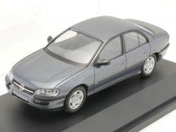 Schuco Opel Omega MV6 Automodell blau grau metallic  OVP