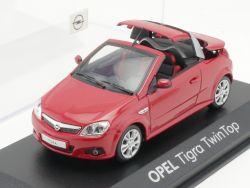 Minichamps Opel Tigra Werbemodell rot Twin Top 1:43 TOP! OVP