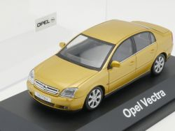 Schuco Opel Vectra C Stufenheck Werbemodell gold-metallic NEU! OVP
