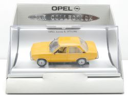 Schuco Opel Ascona B 1975 Car Collection Werbemodell 1:43 TOP! OVP