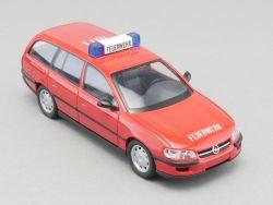 Schuco 04132 Opel Omega B 2,5 TD Feuerwehr 10/1 Caravan 1:43