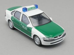 Schuco 04164  Opel Vectra B Polizei Streifenwagen Modellauto