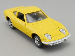 Gama 9830 Mini Opel GT 1900 gelb Modellauto 1:43 TOP!