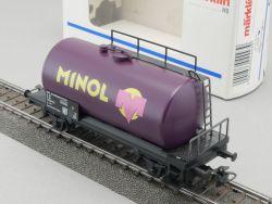 Märklin 4443 Kesselwagen Minol Tankwagen 25 50 735 0106-6 H0 OVP