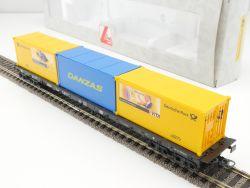 Lima 21421 Containertragwagen DANZAS Deutsche Post DB H0 TOP OVP