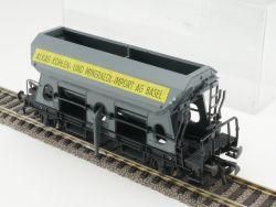 Fleischmann 5511 Selbstentladewagen ALKAG Basel SBB grau H0