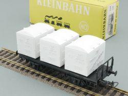 Kleinbahn 339 Behältertragwagen Von Haus zu Haus DC H0  OVP
