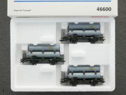 Märklin 46600 Güterwagen-Set Gaswagen KBayStsB Bayern TOP! OVP