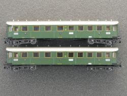 Märklin 4143 Konvolut 2x D-Zug-Wagen Reichsbahn DRG schön