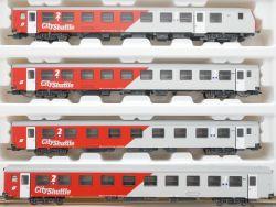 Roco 44181 45018 4x CityShuttle ÖBB LED Beleuchtung Digital OVP