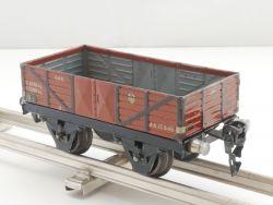 Märklin 1661/0 Güterwagen original Spur 0 Blechspielzeug TOP