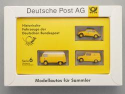Brekina Serie 6 VW Volkswagen Käfer Bundespost DBP 1:87 NEU  OVP