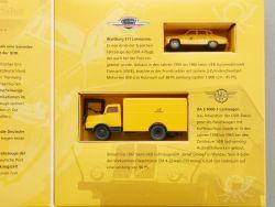 Brekina Postbeförderung in der DDR Wartburg 311 IFA NEU OVP
