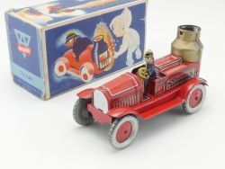 Arnold 640 Uhrwerk Feuerwehr Pennytoy US-Zone Originalkarton OVP