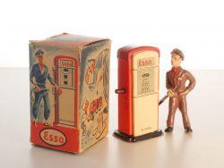 Arnold 1000 Zapfsäule Tankstelle Esso Pennytoy US-Zone Originalkarton OVP