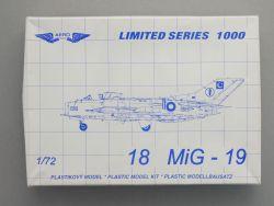 Aero Team Plastikovy MiG-19 Düsenjäger 1:72 Limited 1000 OVP