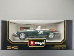 Bburago Burago 3016 Jaguar E Type Cabriolet 1961 MIB NEU OVP