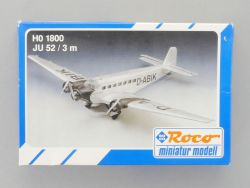 Roco 1800 Ju 52/3m Junkers Flugzeug Tante D-ABIK 1:87  NEU OVP
