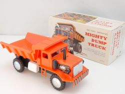 Tomiyama TP 218 Mighty Dump Truck Battery operated Japan lesen OVP