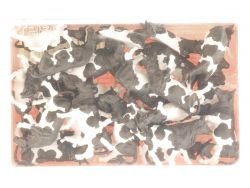 Preiser 14408 Kühe schwarz/weiß 30 Figuren Modellbahn NEU! OVP