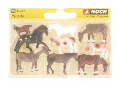 Noch 15761 Pferde Tiere Fohlen Figuren Modellbahn NEU! OVP SG