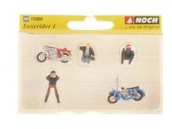 Noch 15900 Easyrider I 2x Motorrad Figuren Modellbahn NEU! OVP