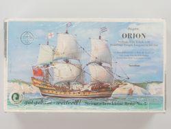Steingraeber 9005 Fregatte Orion 1:90 Holzbaukasten selten NEU OVP