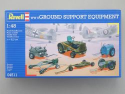Revell 04511 Ground Support Equipment WW2 Bausatz NEU! OVP