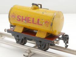 Märklin 1674/0 S Kesselwagen Tankwagen Shell Blechspielzeug