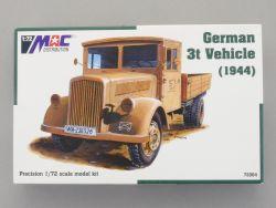 Artmaster 72064 MAC Deutscher Militär LKW WWII 3t 1944 NEU OVP