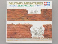Tamiya 35028 Military Brick Wall Set KIT Diorama 1:35 NEU! OVP