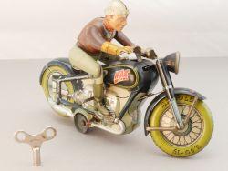 Arnold MAC 700 Motorrad Motorcycle Uhrwerk 50er Jahre original