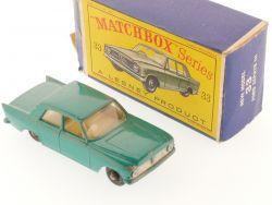Matchbox 33 B regular wheels Ford Zephyr 6 MKIII 1963 Box OVP