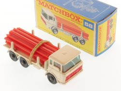 Matchbox 58C regular wheels DAF Girder Truck Träger LKW MIB OVP