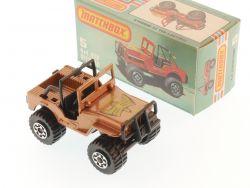 Matchbox 5 H Superfast 4x4 Jeep OffRoad Golden Eagle MIB Box OVP