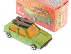 Matchbox 7 E Superfast Volkswagen VW Golf Surfboard MIB Box OVP