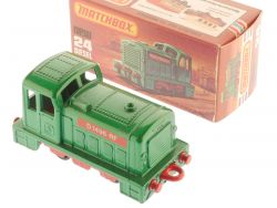 Matchbox 24 E Superfast Diesel Shunter Rangierlok MIB Box OVP