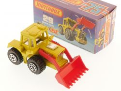 Matchbox 29 E Superfast Tractor Shovel Radlader MIB Box OVP