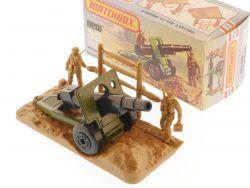 Matchbox 32 E Superfast Field Gun shells on sprue MIB Box OVP