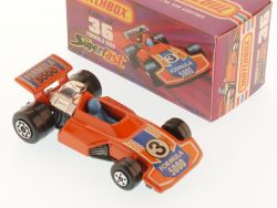 Matchbox 36E Superfast Formula 5000 Rennwagen orange MIB Box OVP