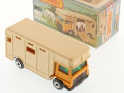 Matchbox 40 E Superfast Horse Box Bedford LKW perfekte Box OVP