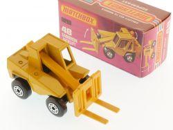 Matchbox 48E Superfast Sambron Jacklift Gabelstapler MIB Box OVP
